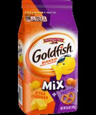 (6 ounces) Pepperidge Farm® Goldfish® Xtra Cheddar + Pretzel Mix