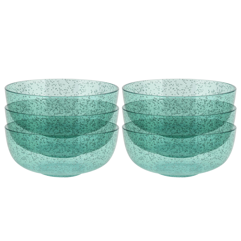 Spritz 29 ounce Soup Bowl, Mint, 6-piece set slideshow image 2