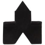 Hardware Essentials Black Glaziers Points