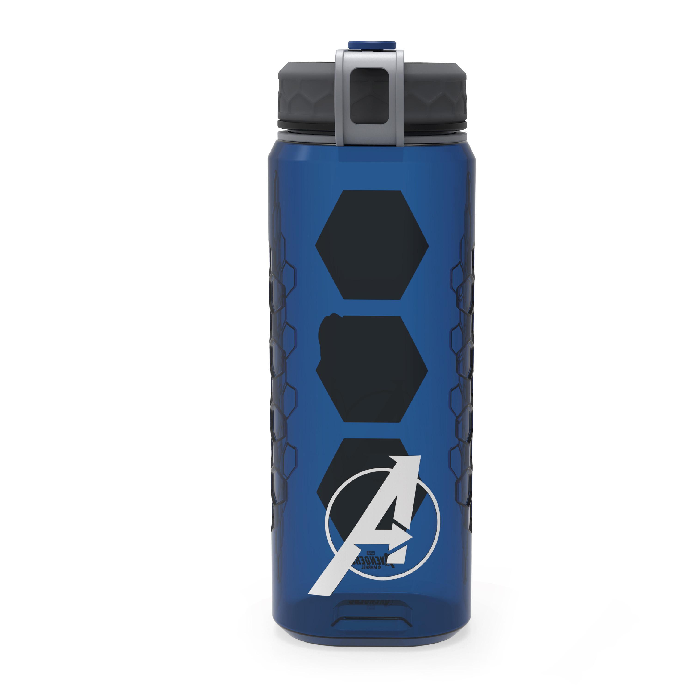Marevel Comics 36 ounce Reusable Plastic Water Bottle, The Avengers slideshow image 2