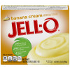 Jell-O Instant Banana Cream Pudding & Pie Filling 5.1 oz Box