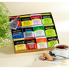 Assorted Bigelow Tea Gift Box - total of 96 teabags