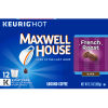 Maxwell House French Roast Coffee K-Cup Pods, 12 count