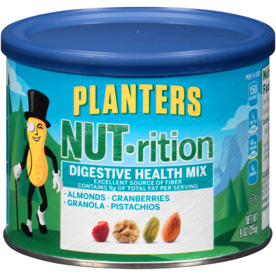 Planters NUT-rition Digestive Health Mix 9 oz Canister