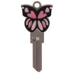 Butterfly 3D Key Blank