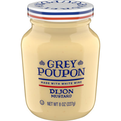 Grey Poupon Dijon Mustard 8 oz Jar