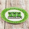 Minecraft Dinnerware Set, Creeper, 2-piece set slideshow image 3