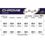 Chrome Socket Bolt Caps Assortment