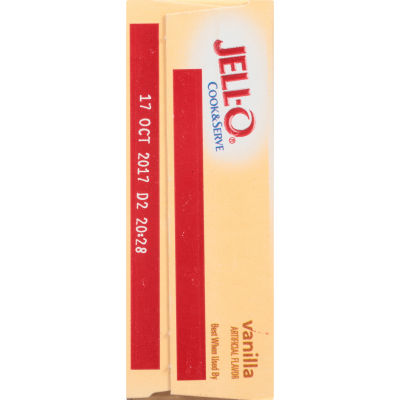 Jell-O Vanilla Cook & Serve Pudding & Pie Filling 4.6 oz Box