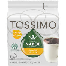 Tassimo Nabob Breakfast Blend Coffee Single Serve T-Discs