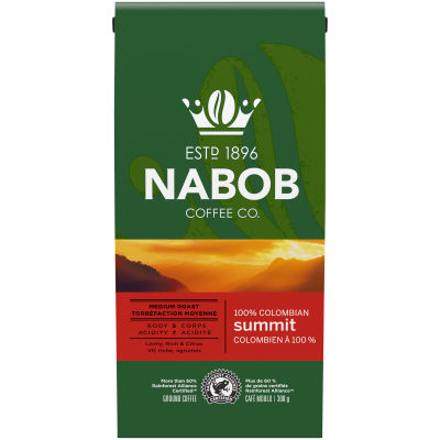 Nabob Summit 100% Colombian Ground Coffee