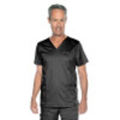 Landau MEN'S V NECK 4 POCKET TOP 4253-Landau