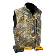 DEWALT®  Realtree Xtra® Men's Camouflage Fleece Heated Vest