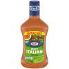 Kraft Zesty Italian Dressing, 24 fl oz Bottle
