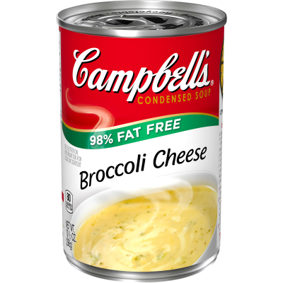 98% Fat Free Broccoli Cheese Soup