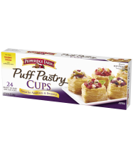 (9.5 ounces) Pepperidge Farm® Puff Pastry Cups, prepared according to package directions
