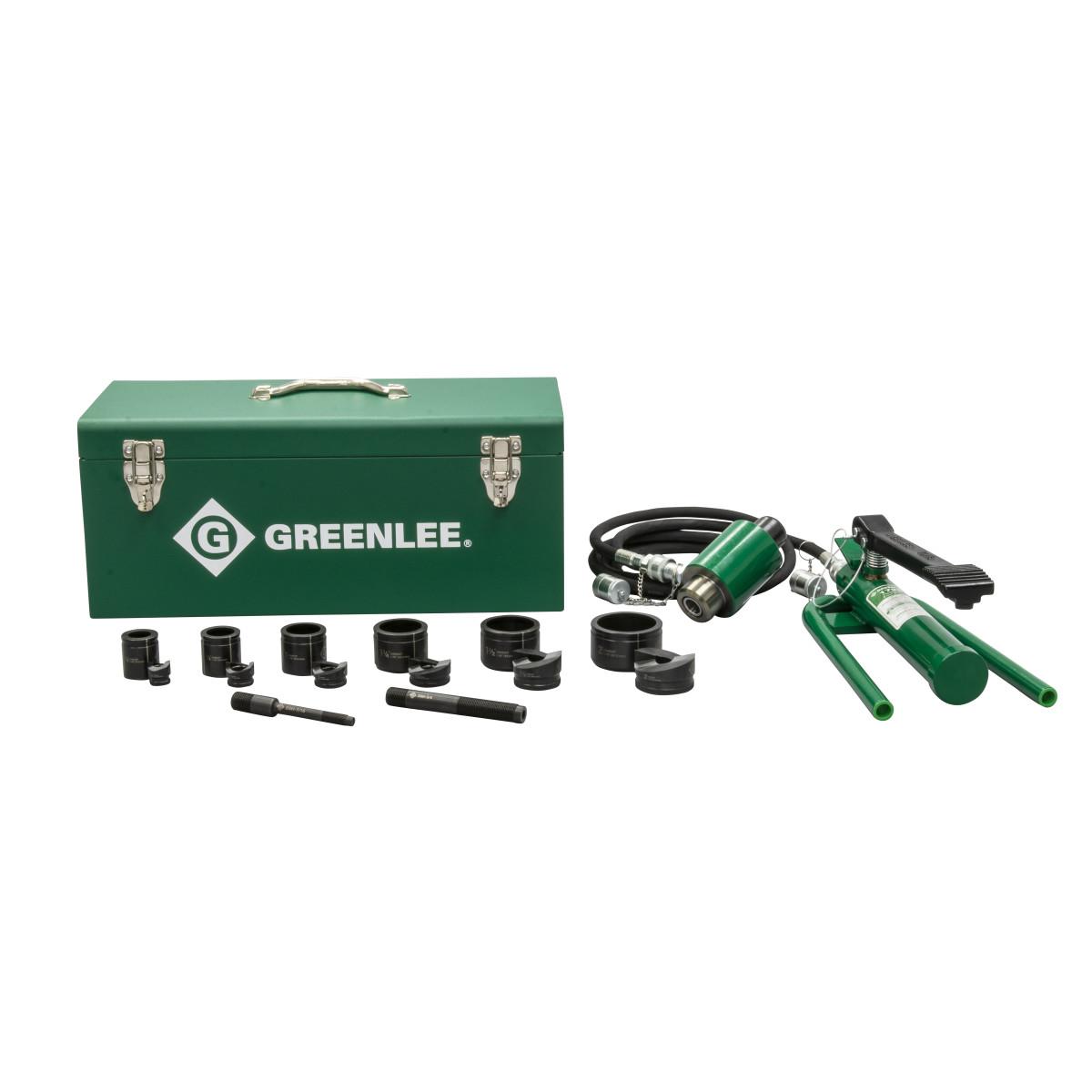 "Greenlee 7606SB Slug-Buster Hydraulc Driver Kit, for 1/2"" - 2"" Conduit"