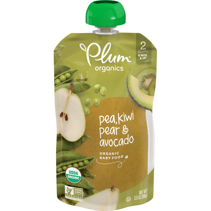 Pea, Kiwi, Pear & Avocado Baby Food