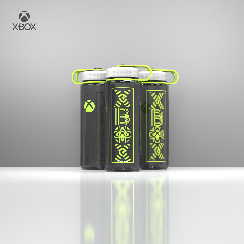 Microsoft 36 ounce Reusable Plastic Water Bottle, Xbox slideshow image 8