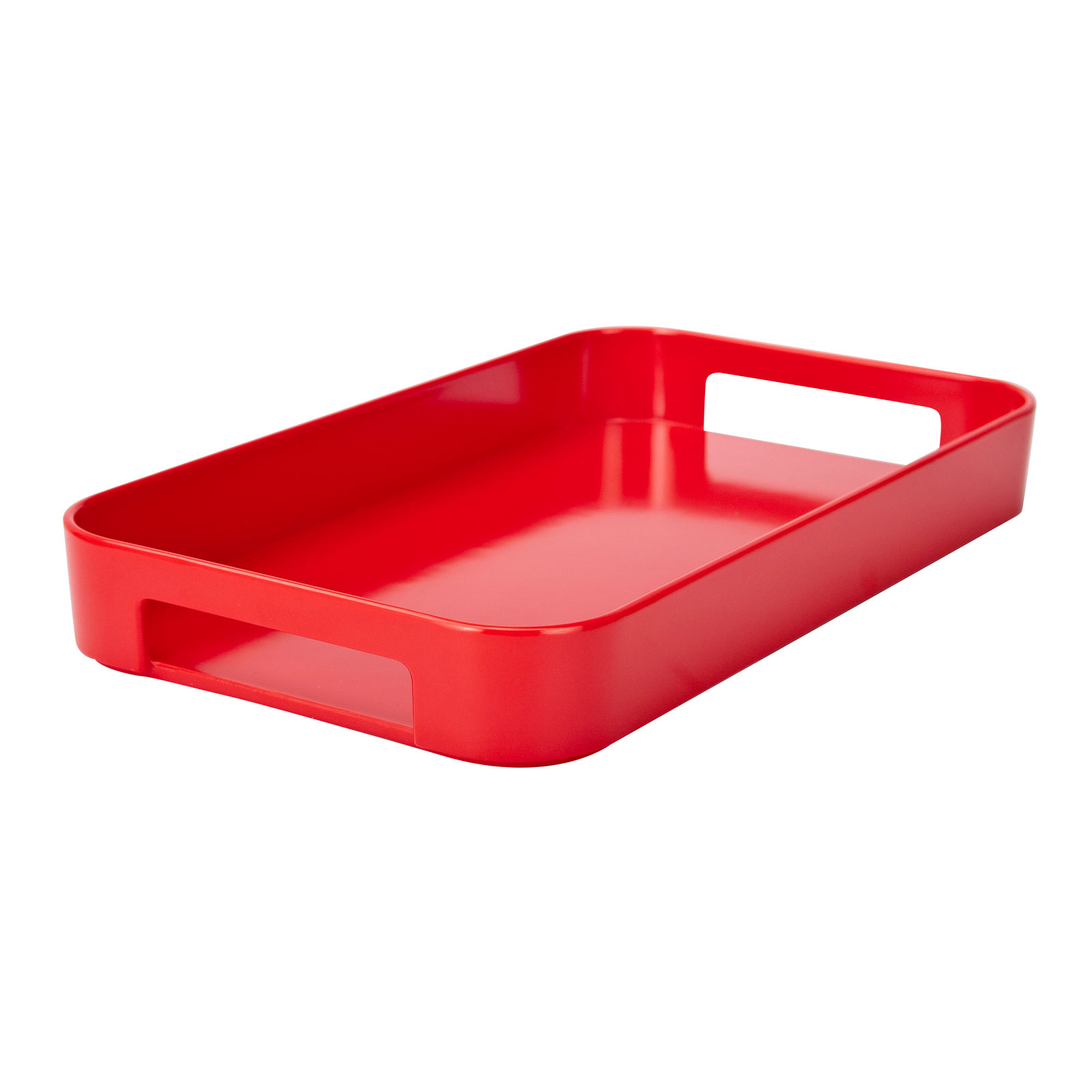 Gallery Serving Tray, Red