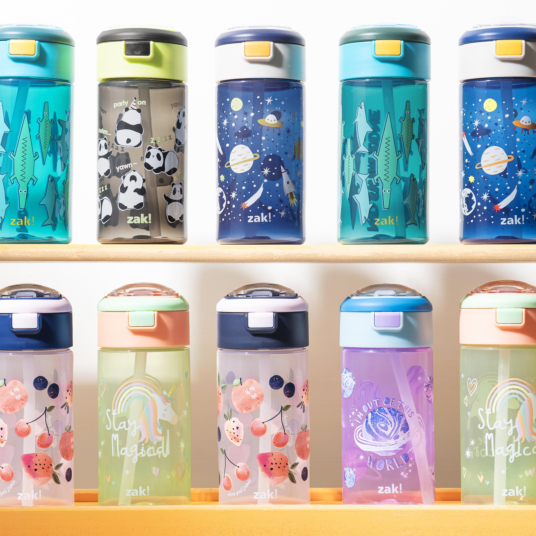 Genesis 18 ounce Water Bottles, Unicorn, 2-piece set slideshow image 6