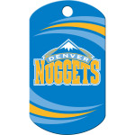 Denver Nuggets Chrome Large Military ID Quick-Tag