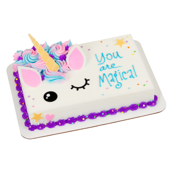 Adorable Unicorn Assortment Sweet Shapes® Fondant
