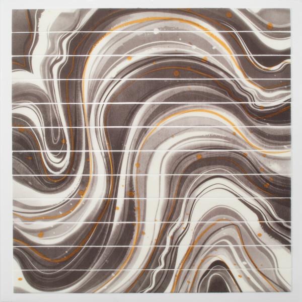 Black Marble Strips Fondant DecoShapes®