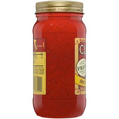 Classico Spicy Tomato and Basil Pasta Sauce 24 oz Jar