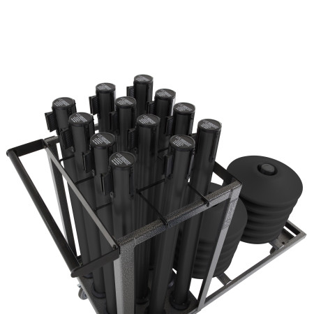 Statesman Cart Bundle - Black Steel 10