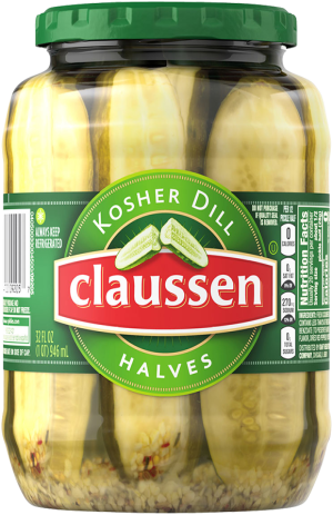 Kosher Dill Pickle Halves