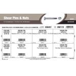 """Shear Pins & Nuts Assortment (1/4""""-20 & 5/16""""-18)"""