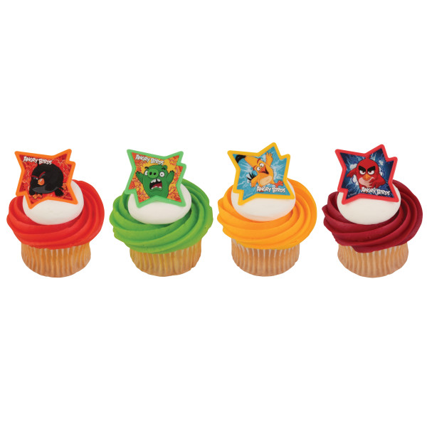 Angry Birds™ Why So Angry? Cupcake Rings