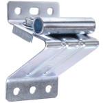 Galvanized Top Roller Bracket - Adjustable