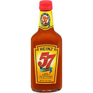 HEINZ 57 Sauce, 15 oz. Bottles (Pack of 12) image