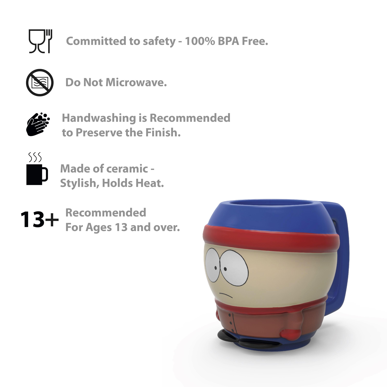 South Park 16 ounce Ceramic Coffee Mug, Eric slideshow image 7