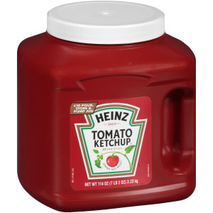 HEINZ Bulk Ketchup Jug, 114 oz. Container (Pack of 6) image
