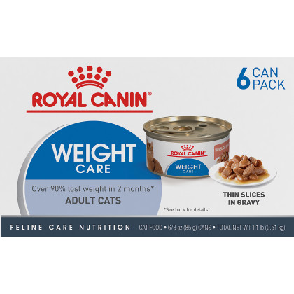 Weight Care Thin Slices in Gravy Canned Cat Food