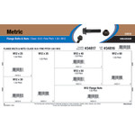 Class 10.9 Metric Flange Bolts & Nuts Assortment (M12-1.50 Fine Pitch)