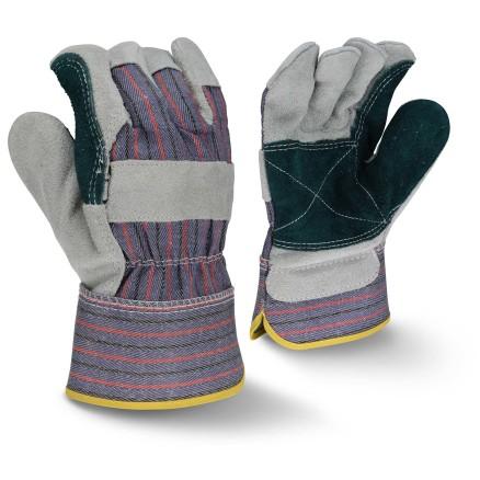 Radians RWG3200JP Regular Shoulder Gray Split Cowhide Leather Glove