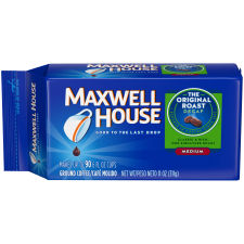 Maxwell House Decaf Original Roast Ground Coffee 11 oz