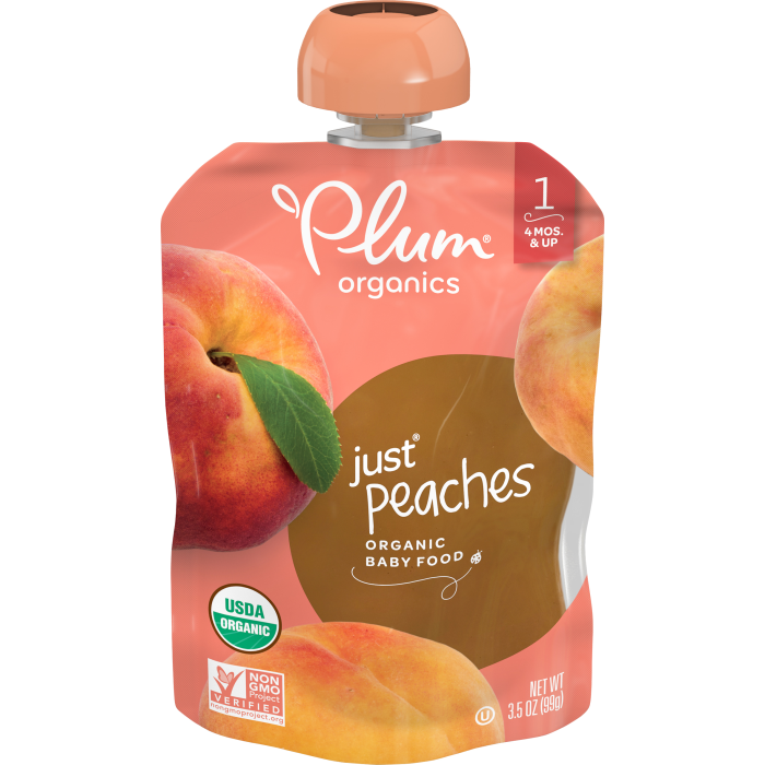 Peaches Baby Food