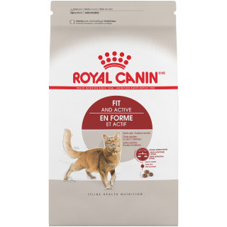 Fit And Active Dry Cat Food