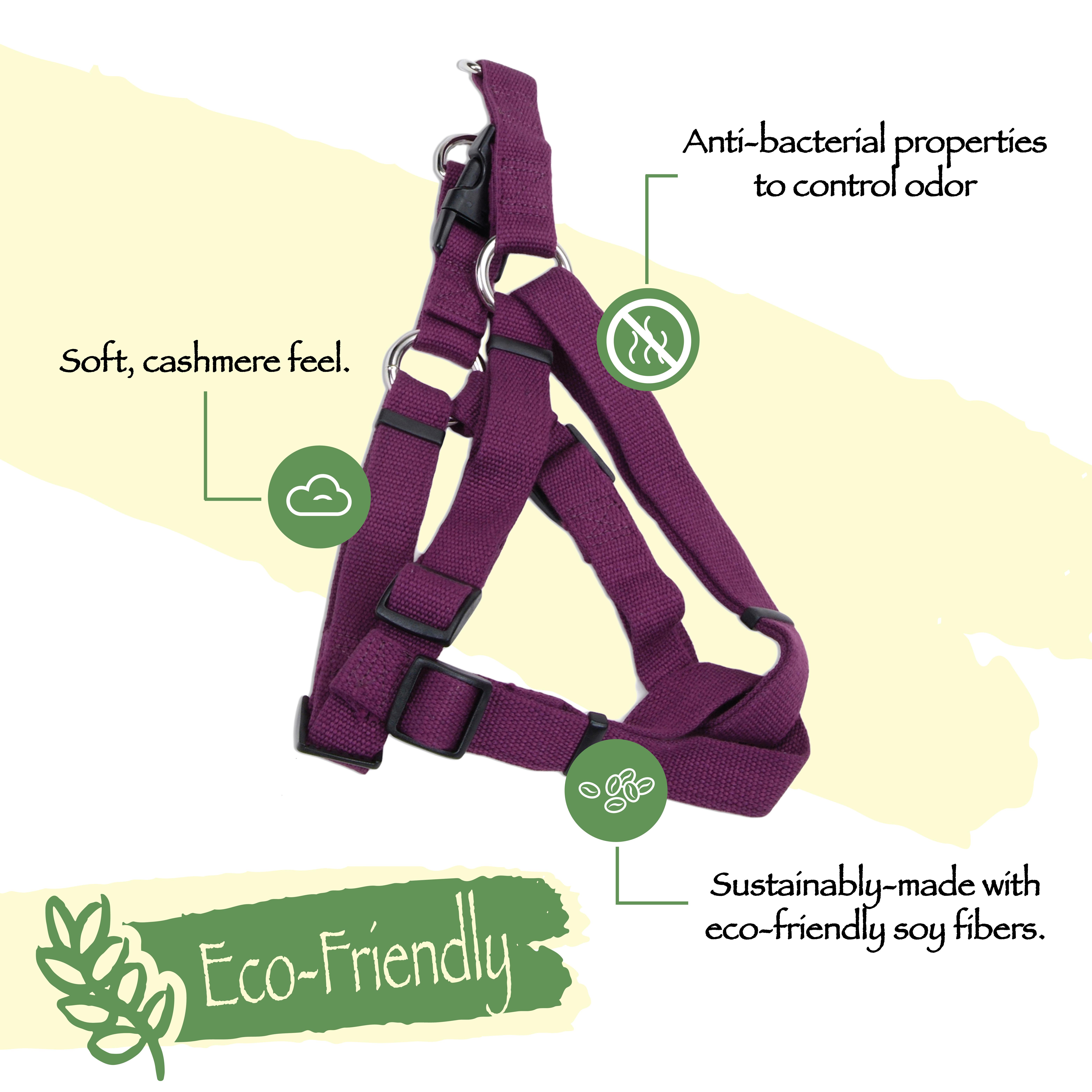 New Earth® Soy Comfort Wrap Adjustable Dog Harness