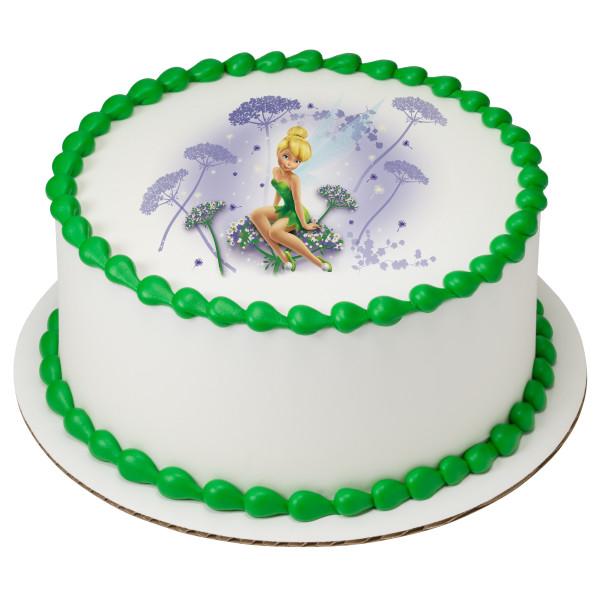 Tinker Bell I Believe in Fairies PhotoCake® Edible Image®