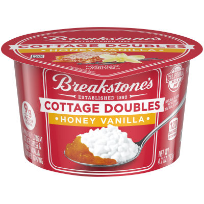 Breakstone's Cottage Doubles Honey Vanilla 4.7 oz Tub