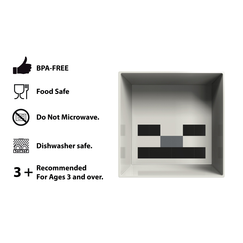 Minecraft Kids Dinnerware Set, Creeper and Ghost, 4-piece set slideshow image 5
