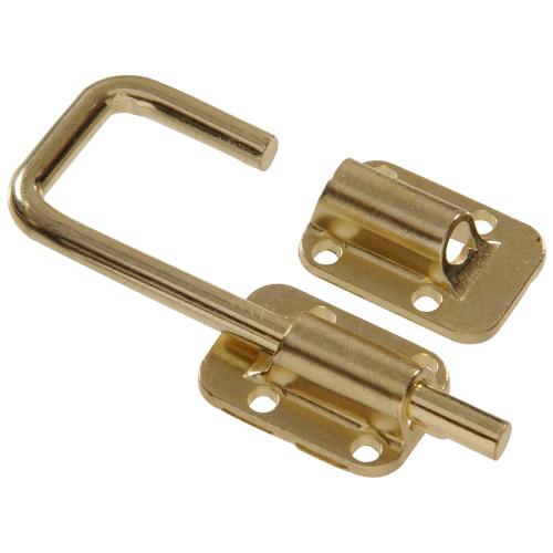 Hardware Essentials Door Latches Brass 1-1/2