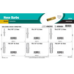 Brass Hose Barbs Assortment (Connectors)