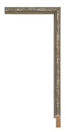 Allegra Antique Silver 3/4